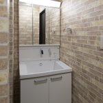 2階洗面所 洗濯脱衣室とは別になっています